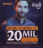 Folleto actual Tigo - 03.13.2020 - 04.12.2020.