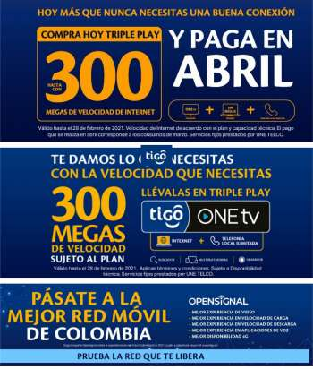 Folleto actual Tigo - 02.01.2021 - 02.28.2021.