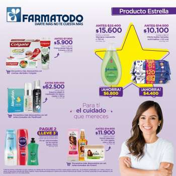 Folleto actual Farmatodo - 02.14.2021 - 02.20.2021.