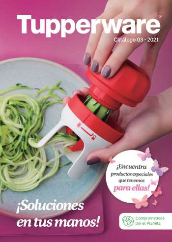 Folleto actual Tupperware - 02.19.2021 - 03.17.2021.