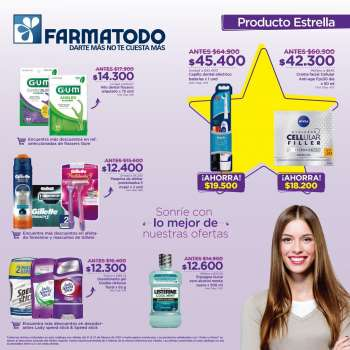 Folleto actual Farmatodo - 02.21.2021 - 02.27.2021.