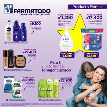 Folleto actual Farmatodo - 03.14.2021 - 03.20.2021.