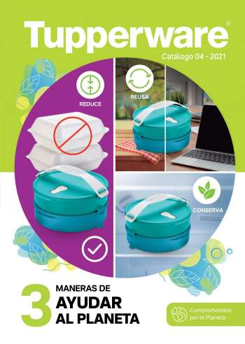 Folleto actual Tupperware - 03.19.2021 - 04.14.2021.