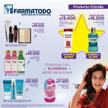 Folleto actual Farmatodo - 03.21.2021 - 03.27.2021.