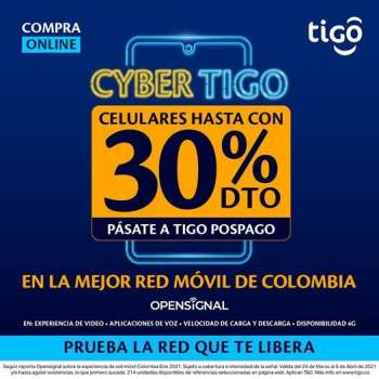 Folleto actual Tigo - 03.24.2021 - 04.06.2021.