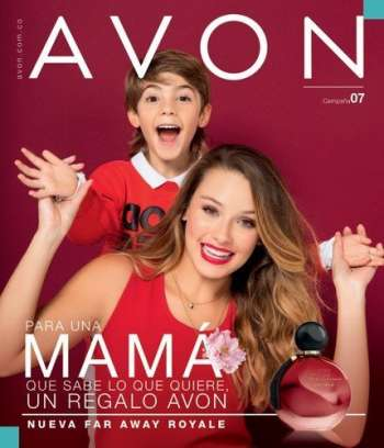 Folleto actual Avon.