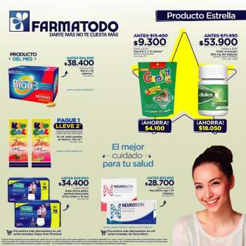 Folleto actual Farmatodo - 04.04.2021 - 04.10.2021.