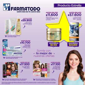 Folleto actual Farmatodo - 04.11.2021 - 04.17.2021.