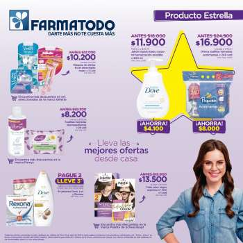 Folleto actual Farmatodo - 04.18.2021 - 04.24.2021.