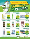 Folleto actual Farmacias SanaSana - 1.7.2020 - 31.7.2020.