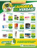 Folleto actual Farmacias SanaSana - 1.8.2020 - 31.8.2020.
