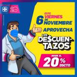 Folleto actual Farmacias Cruz Azul - 6.11.2020 - 6.11.2020.