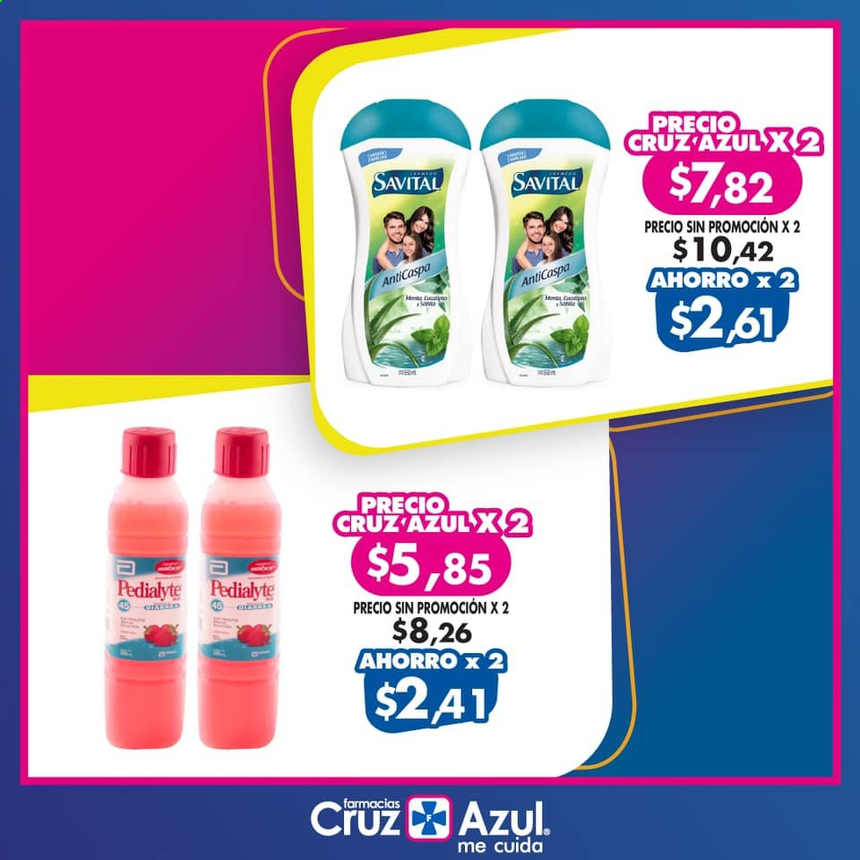Folleto actual Farmacias Cruz Azul - Ventas - menta. Página 1.
