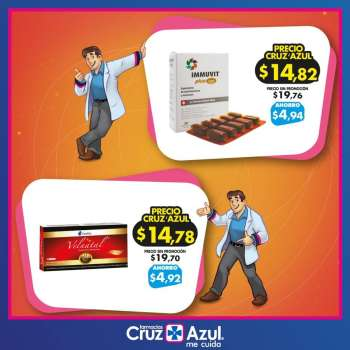 Folleto actual Farmacias Cruz Azul - 2.2.2021 - 28.2.2021.