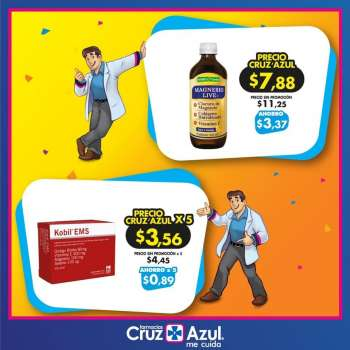 Folleto actual Farmacias Cruz Azul - 1.2.2021 - 28.2.2021.