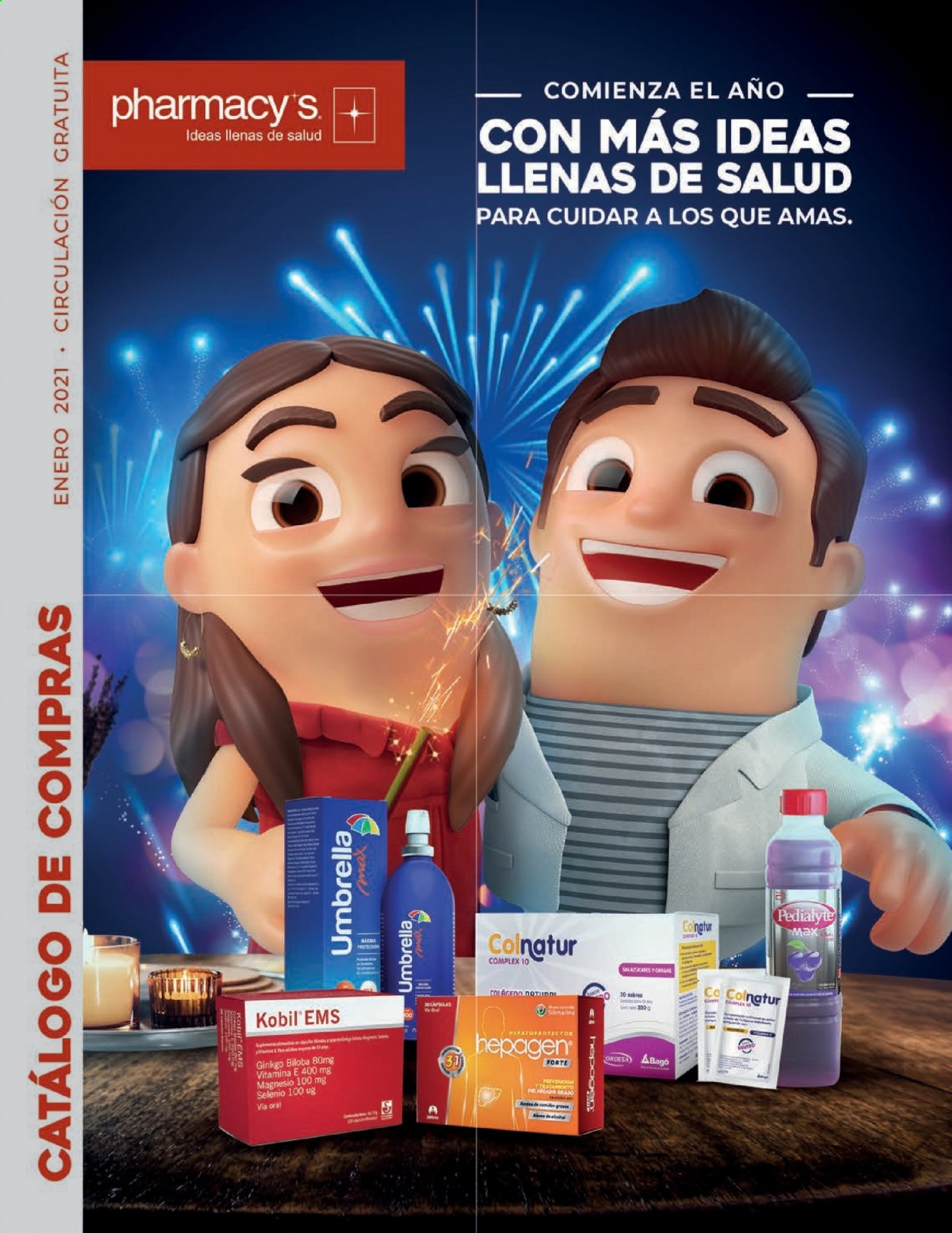 Folleto actual Pharmacy's - 1.1.2021 - 31.1.2021 - Ventas - vitamina e. Página 1.