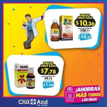 Folleto actual Farmacias Cruz Azul - 1.3.2021 - 31.3.2021.