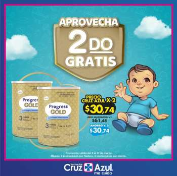 Folleto actual Farmacias Cruz Azul - 5.3.2021 - 31.3.2021.