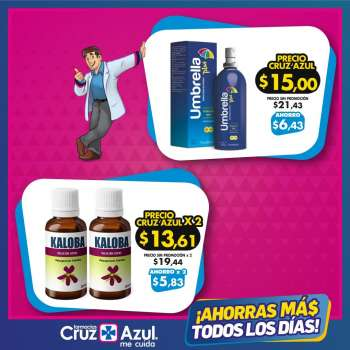 Folleto actual Farmacias Cruz Azul - 18.4.2021 - 31.5.2021.