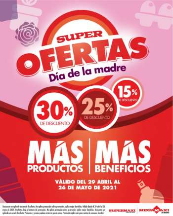 Folleto actual Supermaxi - 29.4.2021 - 26.5.2021.