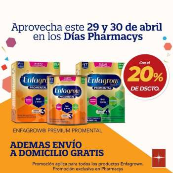 Folleto actual Pharmacy's - 29.4.2021 - 30.4.2021.