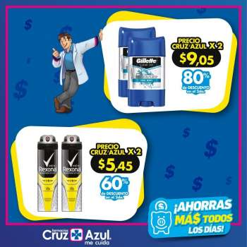 Folleto actual Farmacias Cruz Azul - 1.5.2021 - 5.5.2021.