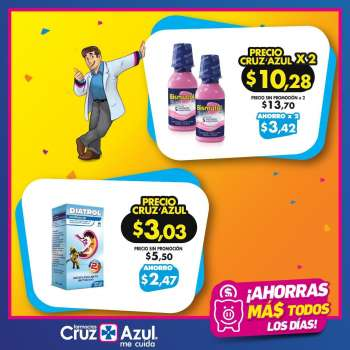 Folleto actual Farmacias Cruz Azul - 1.5.2021 - 31.5.2021.