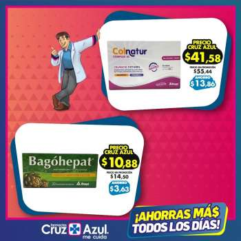 Folleto actual Farmacias Cruz Azul - 2.5.2021 - 31.5.2021.
