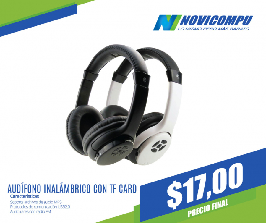 Folleto actual Novicompu - 10.1.2018 - 31.1.2018 - Ventas - radio, auriculares, inalámbrico, mp3. Página 9.