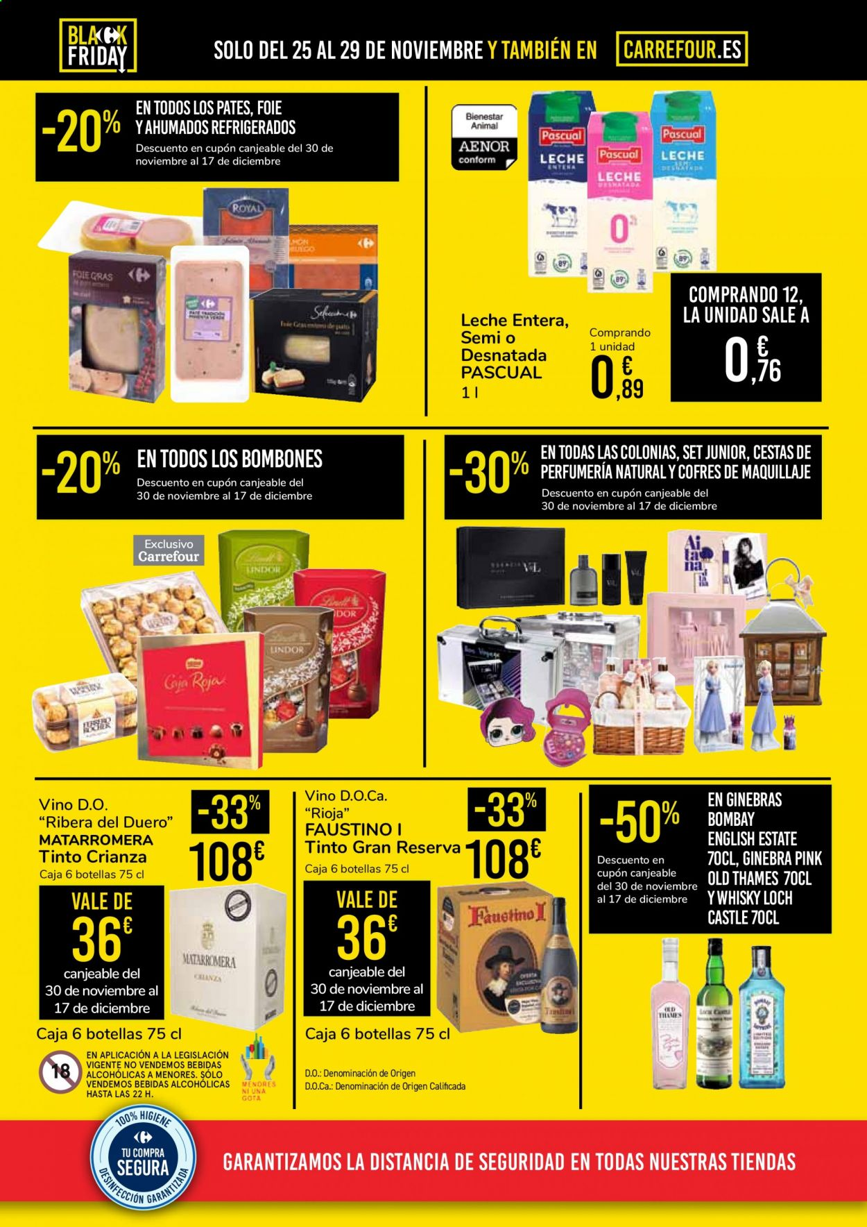 Folleto vigente Carrefour  - 25.11.2020 - 29.11.2020. Página 2.
