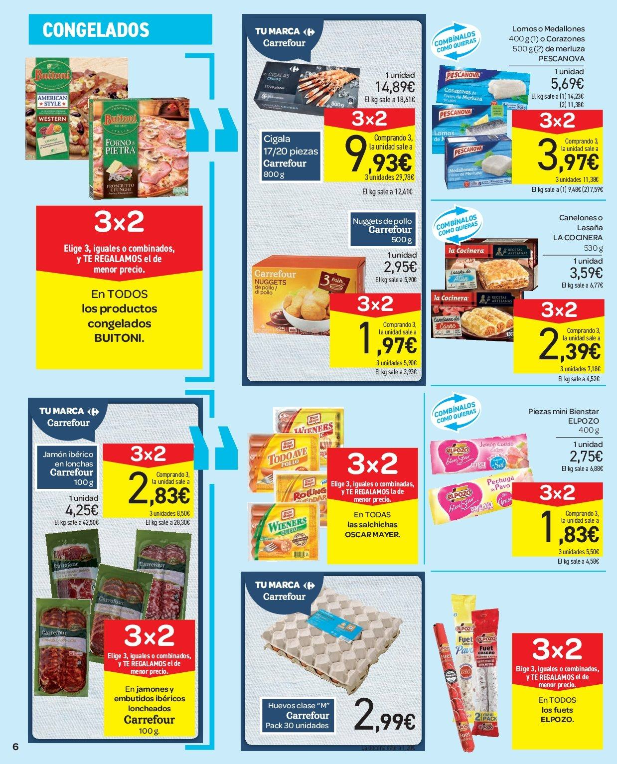 Folleto vigente Carrefour  - 5.12.2018 - 13.12.2018. Página 6.