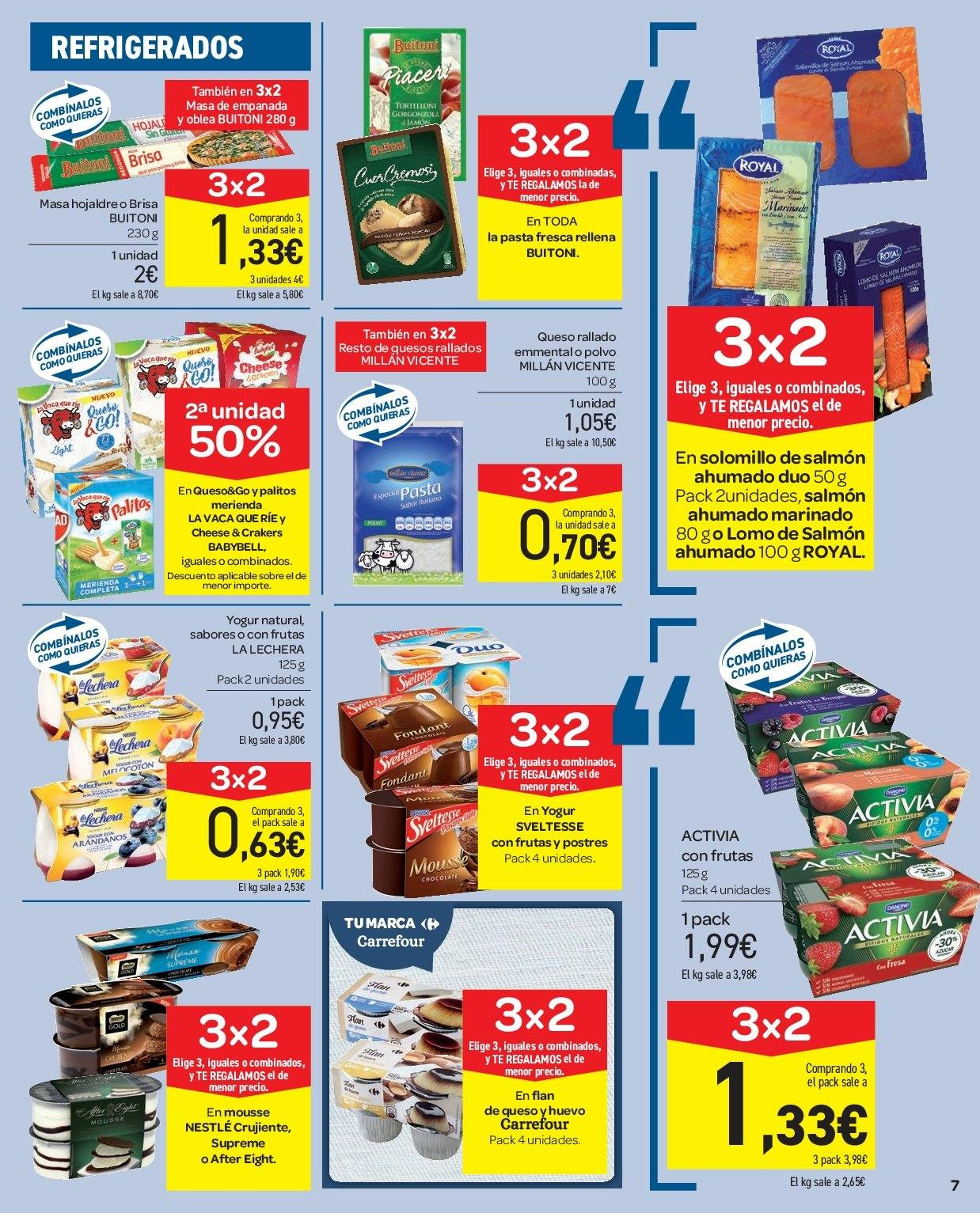 Folleto vigente Carrefour  - 5.12.2018 - 13.12.2018. Página 7.
