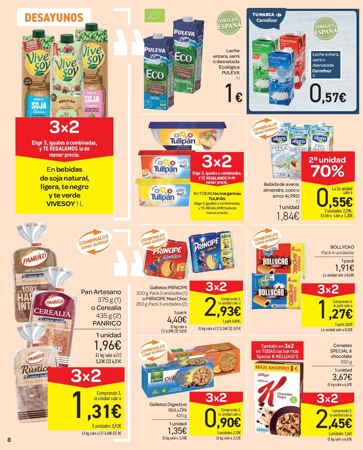 Folleto vigente Carrefour  - 5.12.2018 - 13.12.2018. Página 8.