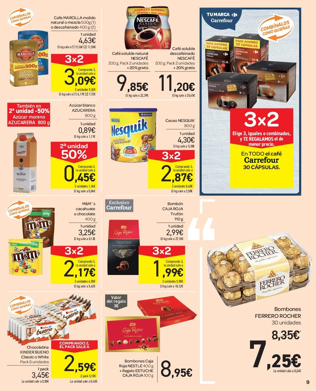 Folleto vigente Carrefour  - 5.12.2018 - 13.12.2018. Página 9.