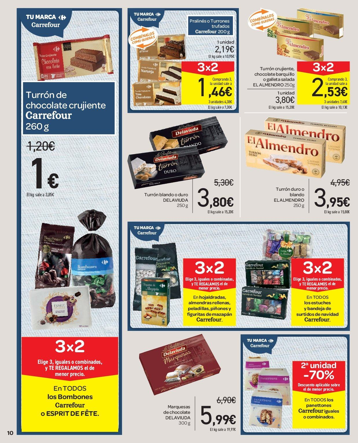 Folleto vigente Carrefour  - 5.12.2018 - 13.12.2018. Página 10.
