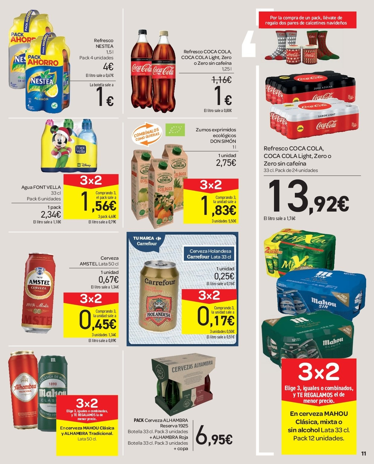 Folleto vigente Carrefour  - 5.12.2018 - 13.12.2018. Página 11.