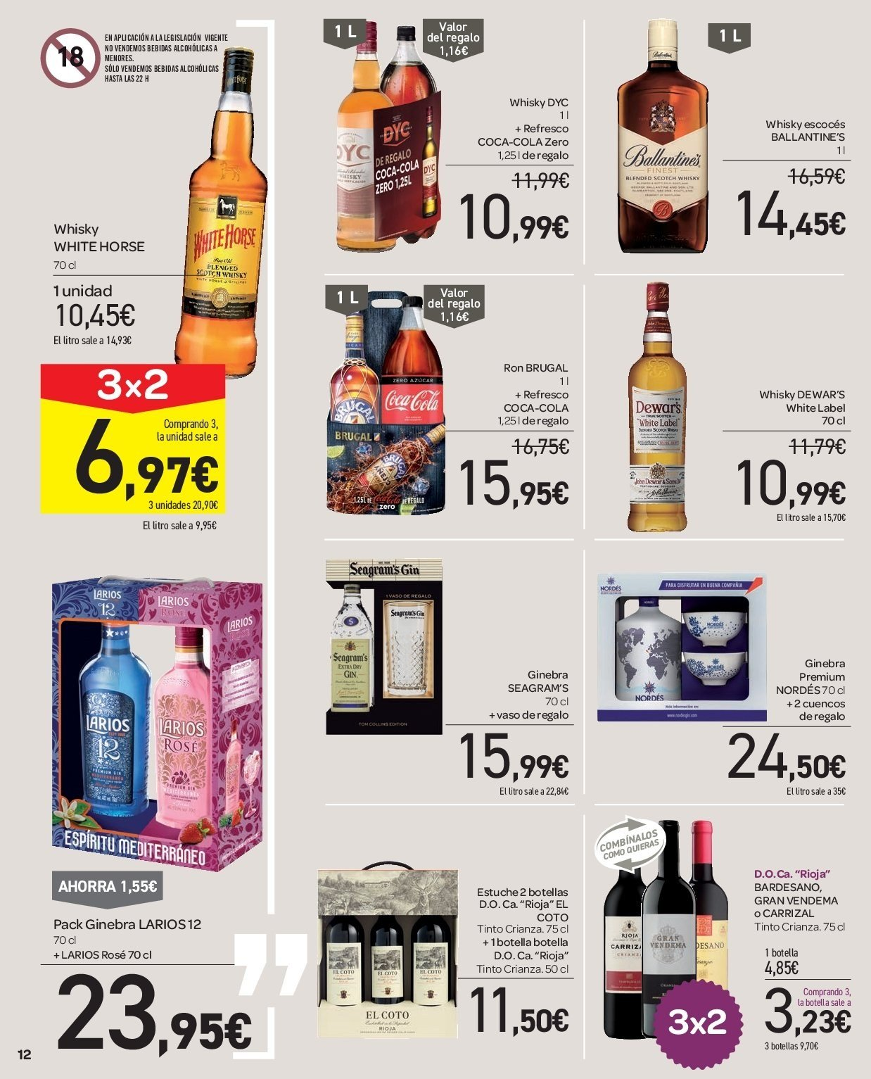 Folleto vigente Carrefour  - 5.12.2018 - 13.12.2018. Página 12.