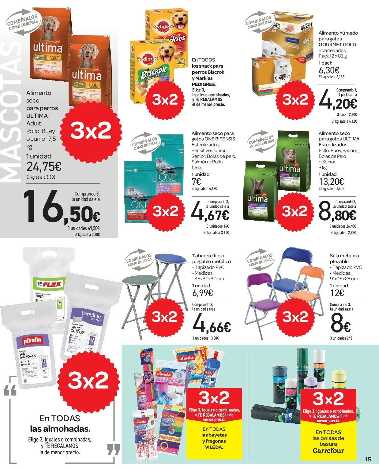 Folleto vigente Carrefour  - 5.12.2018 - 13.12.2018. Página 15.