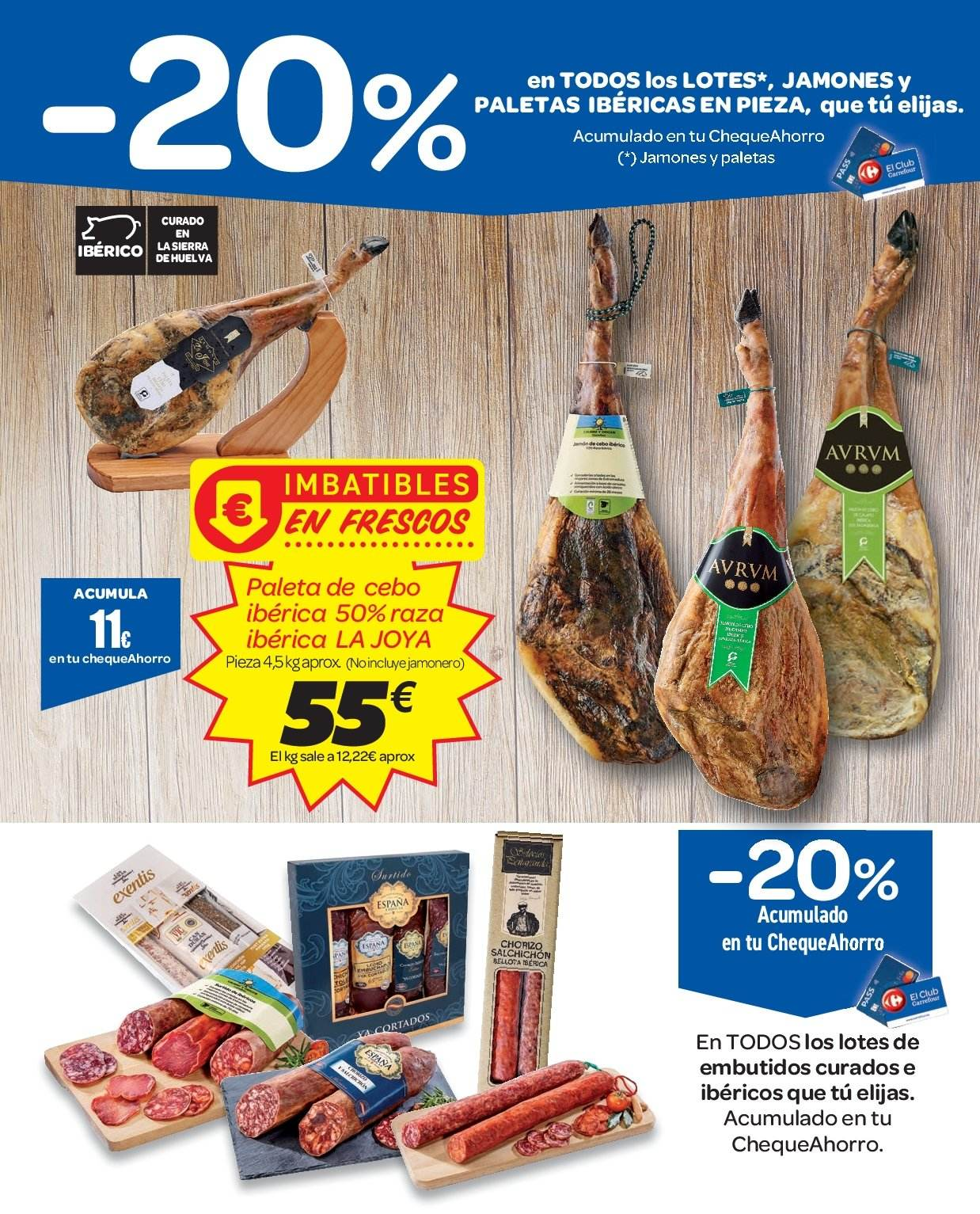 Folleto vigente Carrefour  - 2.1.2019 - 9.1.2019. Página 9.