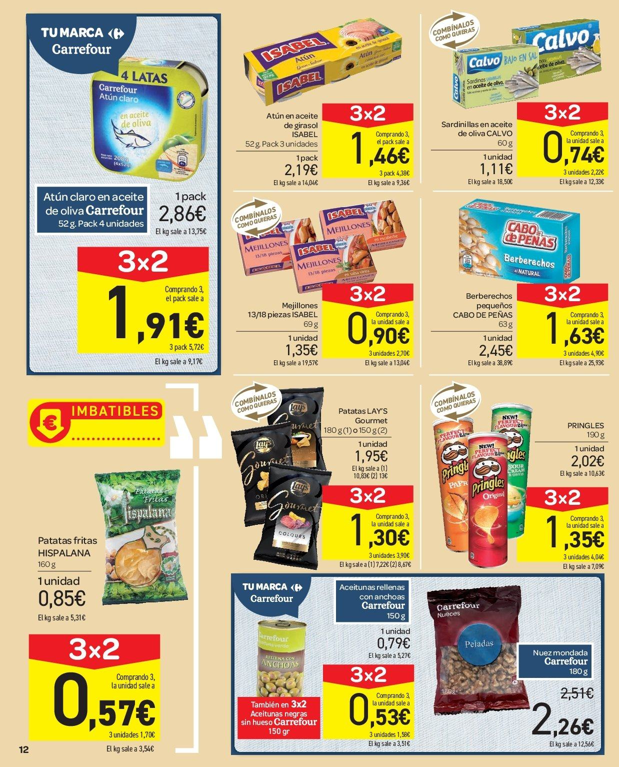 Folleto vigente Carrefour  - 2.1.2019 - 9.1.2019. Página 12.