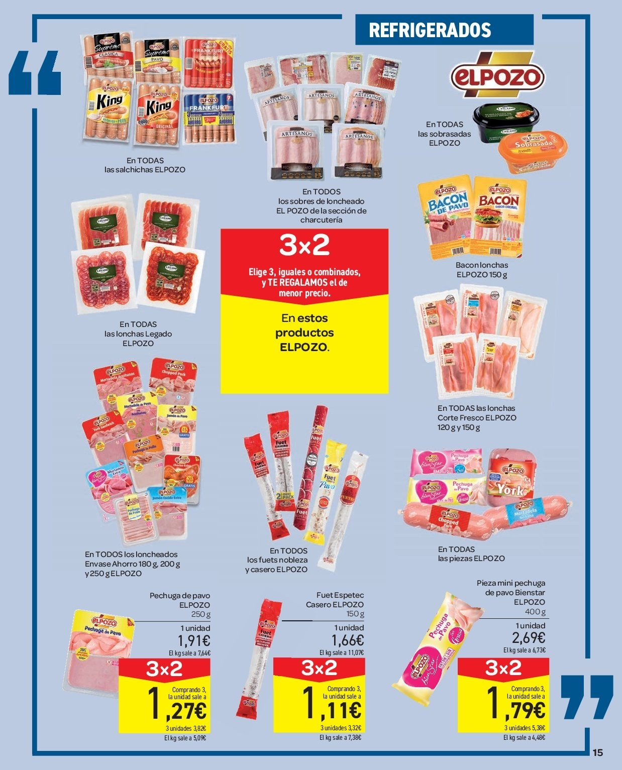 Folleto vigente Carrefour  - 2.1.2019 - 9.1.2019. Página 15.