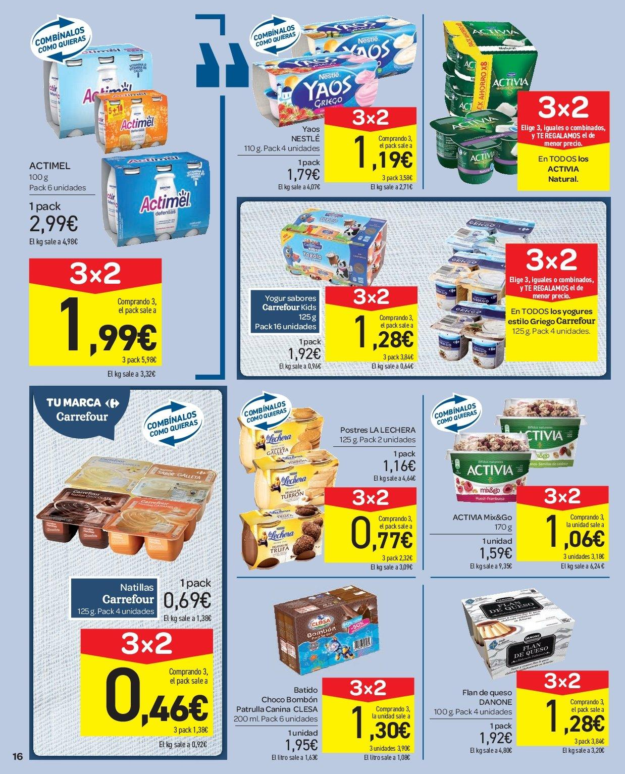 Folleto vigente Carrefour  - 2.1.2019 - 9.1.2019. Página 16.