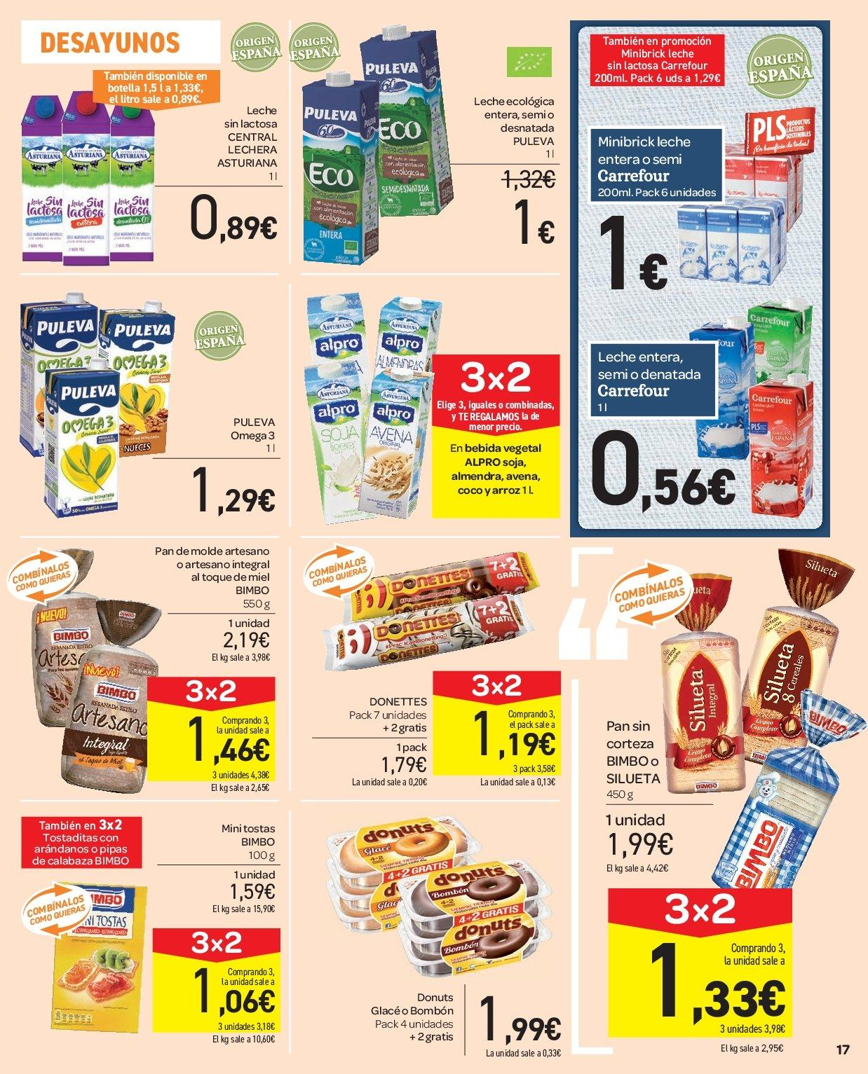 Folleto vigente Carrefour  - 2.1.2019 - 9.1.2019. Página 17.