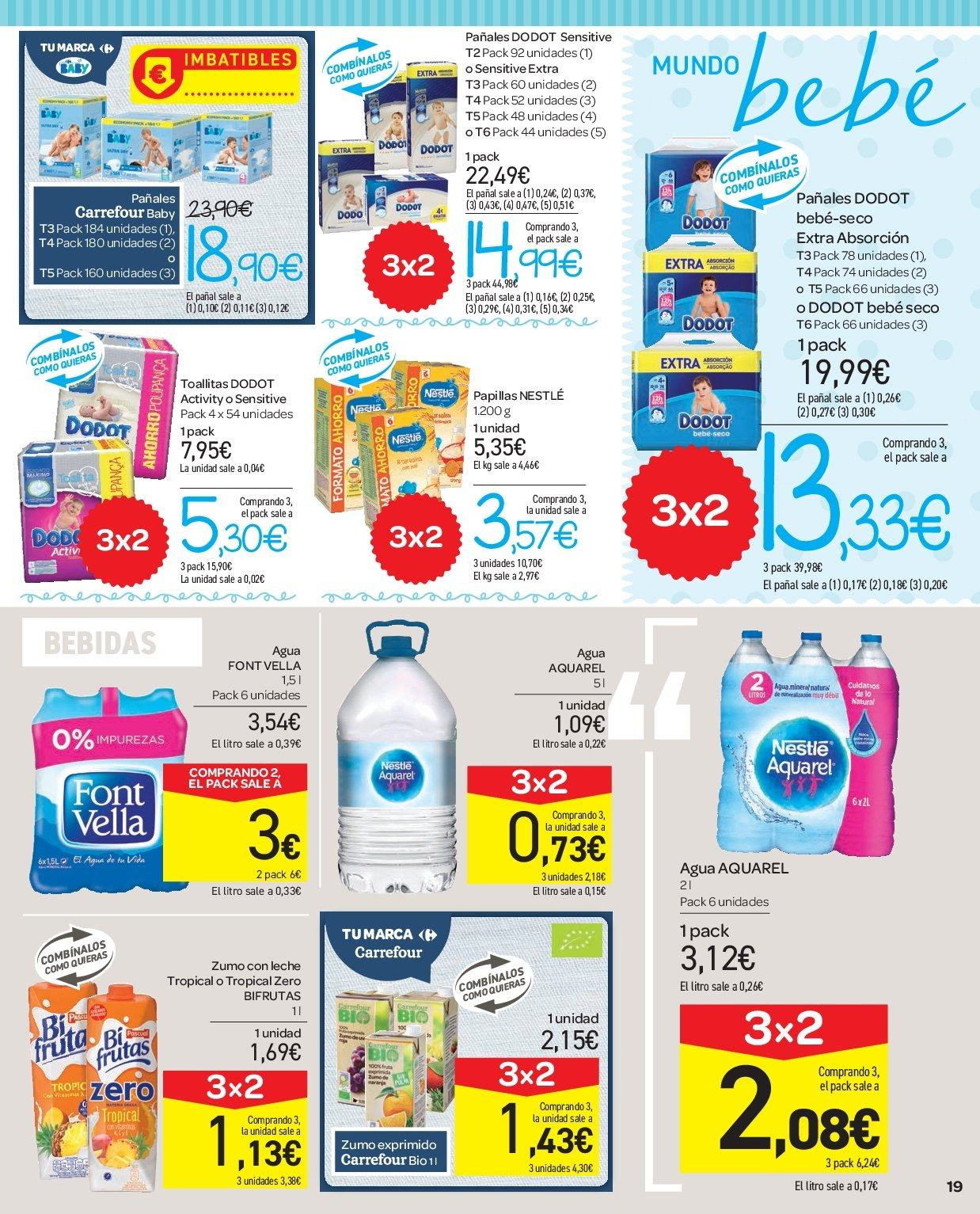 Folleto vigente Carrefour  - 2.1.2019 - 9.1.2019. Página 19.