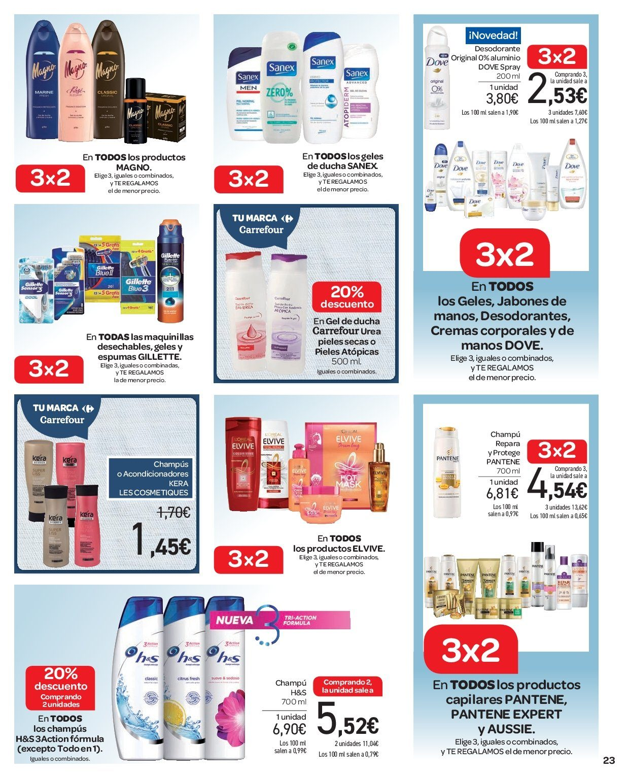 Folleto vigente Carrefour  - 2.1.2019 - 9.1.2019. Página 23.