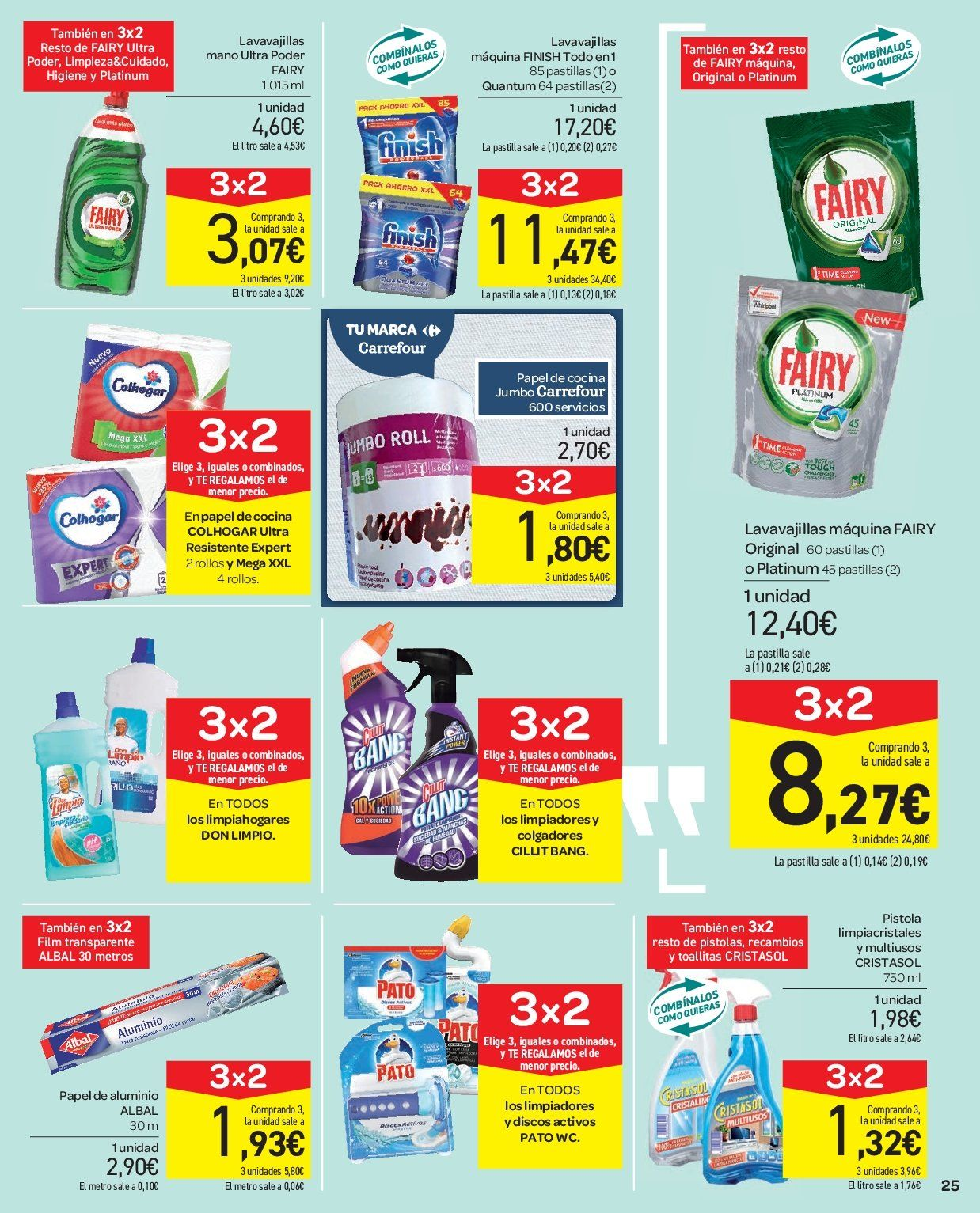Folleto vigente Carrefour  - 2.1.2019 - 9.1.2019. Página 25.