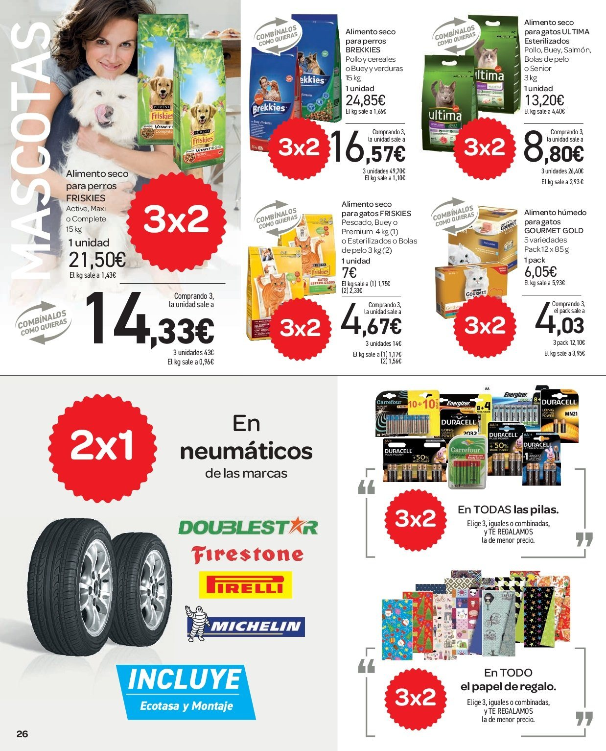 Folleto vigente Carrefour  - 2.1.2019 - 9.1.2019. Página 26.