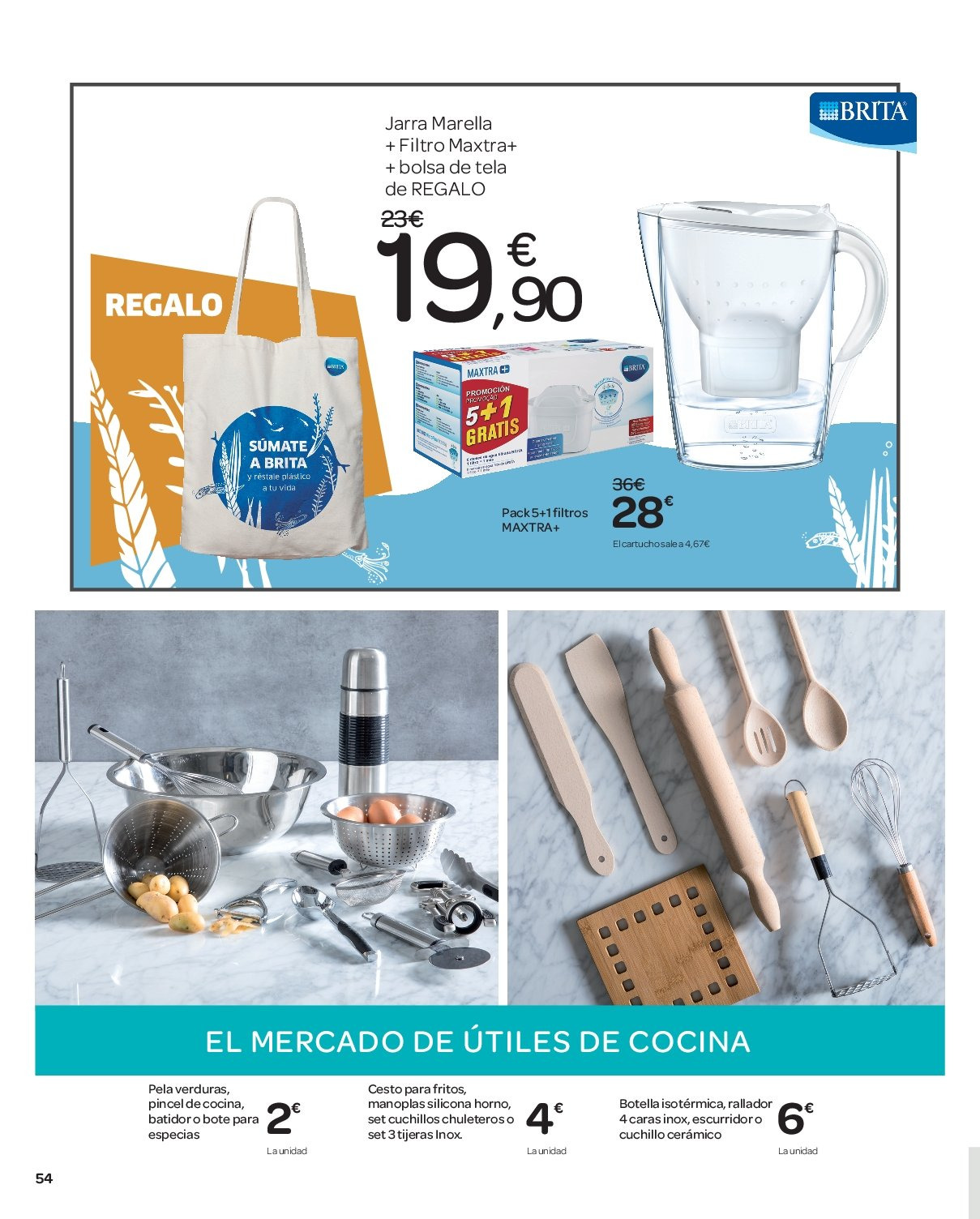 Folleto vigente Carrefour  - 10.1.2019 - 21.1.2019. Página 54.