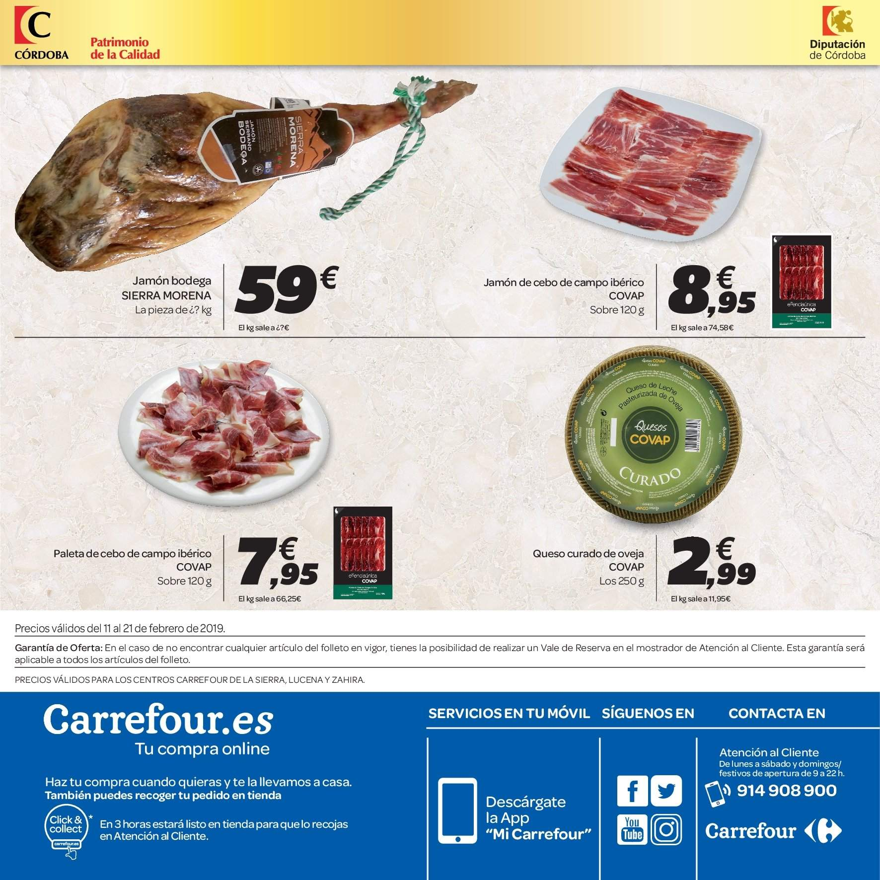 Folleto vigente Carrefour  - 11.2.2019 - 21.2.2019. Página 8.