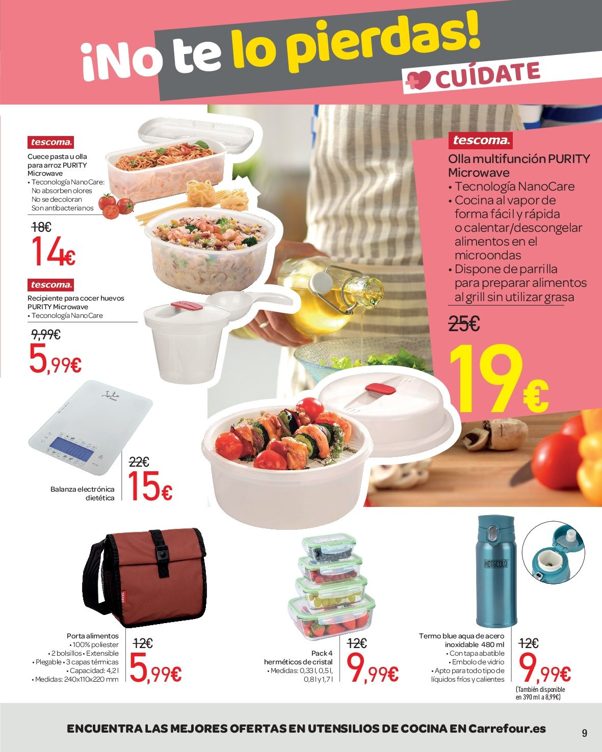 Folleto vigente Carrefour  - 1.3.2019 - 24.3.2019. Página 9.